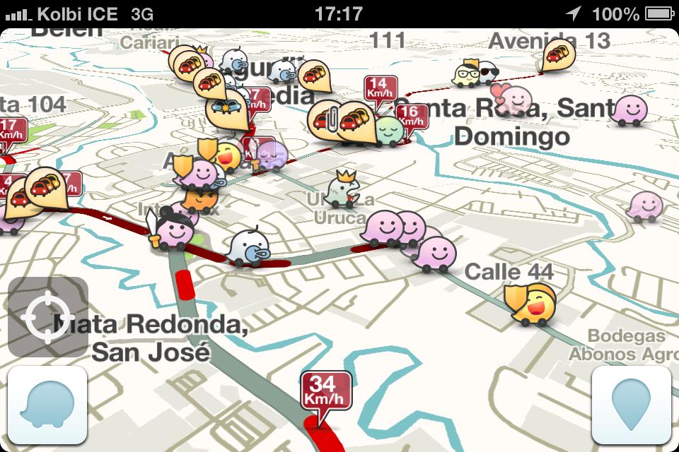 The Waze To Get Around In Costa Rica Or Googlemaps