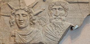 Sol Invictus y Júpiter Doliqueno (II dC)