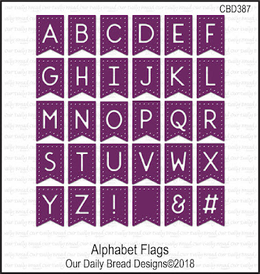 Custom Die: Alphabet Flags