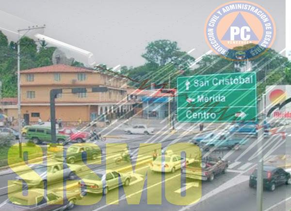 Sismo de 4 grados en El Vigía - Estado Mérida