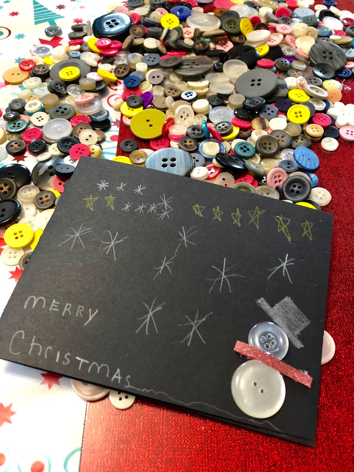 HoneyBears & SydneyBeans: Homemade Christmas Cards & Ham and