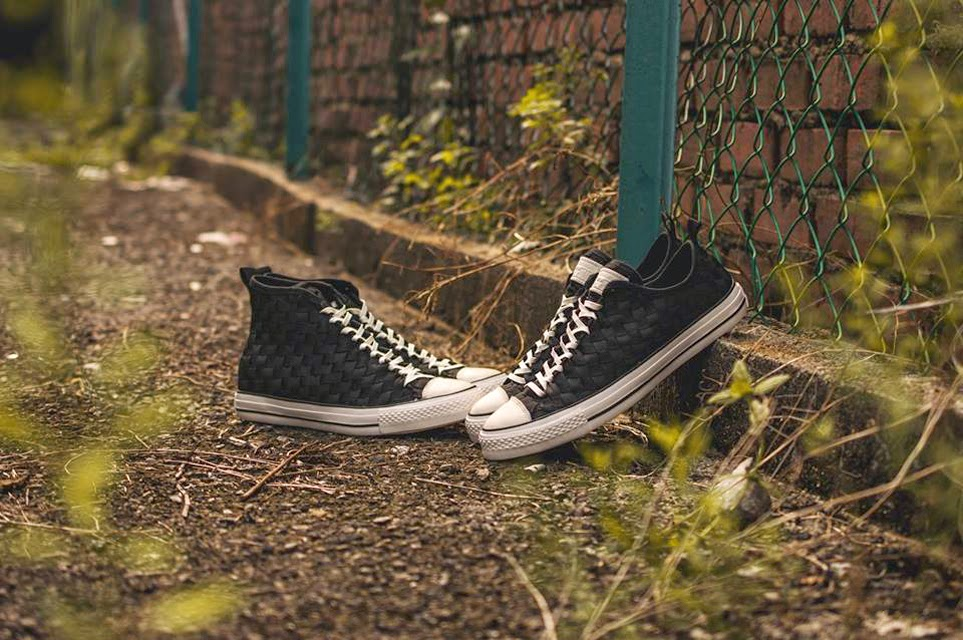 """db37abfb3b65 Converse Chuck Taylor All Star Weave Hi-Low in White and Black Now  Available at CROSSOVER Flagship Store. 20 March 2015 Footwear. """"Chuck  """" ..."""