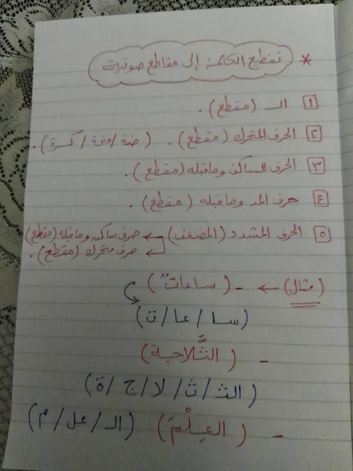 مراجعة القواعد النحوية والتراكيب للصف الثاني والثالث الابتدائي مستر إسلام سمك 11