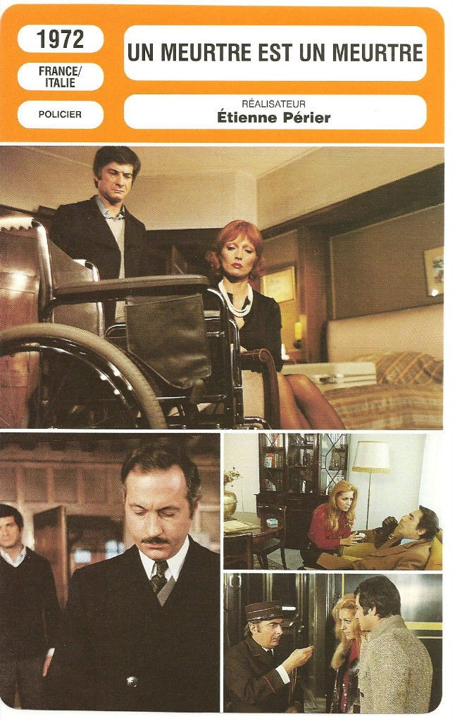 Un Meurtre Est Un Meurtre : meurtre, Calda, Vita:, Meurtre, (1972)