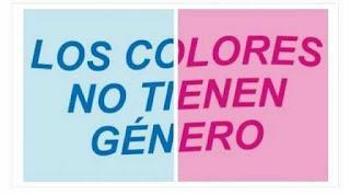 Los colores no tienen genero