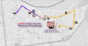 SEÑOR DE LOS MILAGROS 2017: Este es el recorrido de la procesión de hoy Miércoles 18