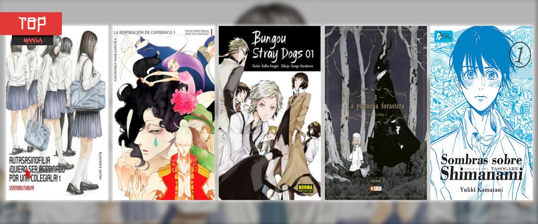 Top 5 mejores mangas 2017
