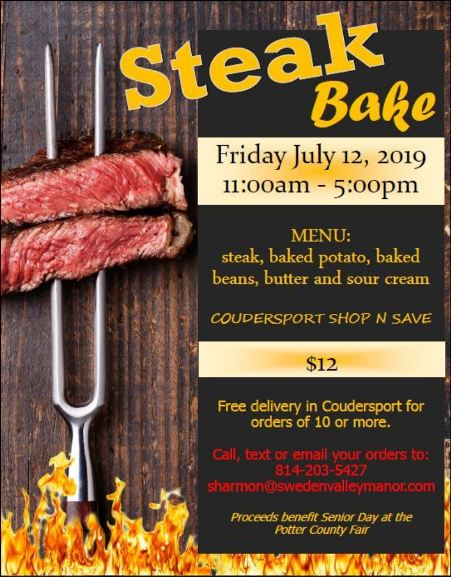 7-12 Steak Bake, Coudersport