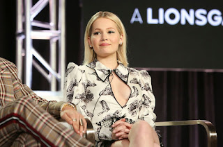 Kelli Berglund at 'Now Apocalypse' TV Show Panel at TCA Winter Press Tour in LA