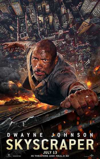 Skyscraper 2018 Dual Audio Hindi English Web-DL 720p 480p Movie Download