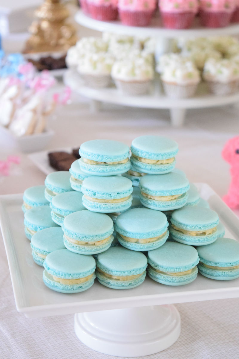 Gender Neutral Baby Sprinkle Macarons