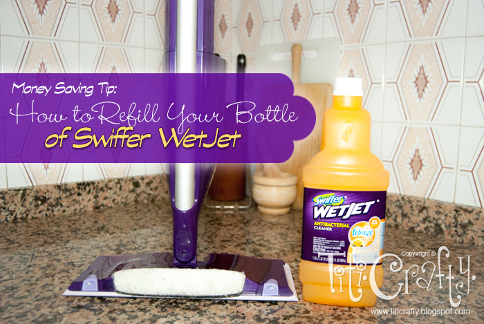 How to Refill Your Swiffer WetJet