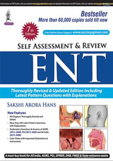 Self Assessment and Review: ENT 7th Edition sakshi Arora Hans pdf free download- No Cost Library