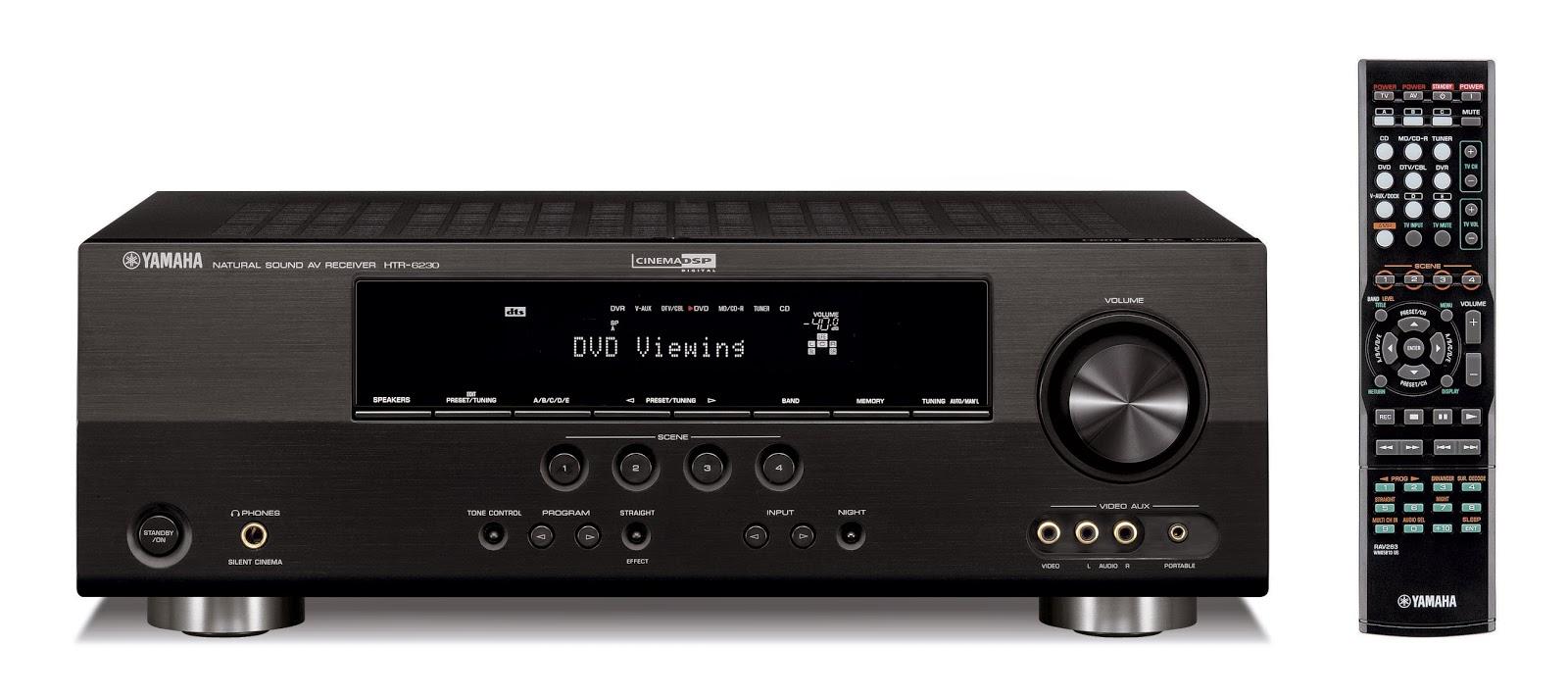 yamaha htr 6230 av receiver audiobaza. Black Bedroom Furniture Sets. Home Design Ideas