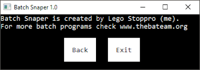 Take Screenshot of Current Screen Using CMD | The Batch Snaper | By Lego Stoppro