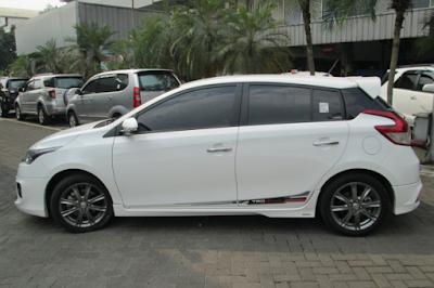 Eksterior Toyota Yaris Lele