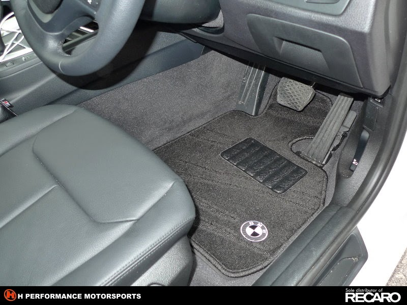 Premium Car Floor Mat Bmw 3 Series F30 Premium Wave Black