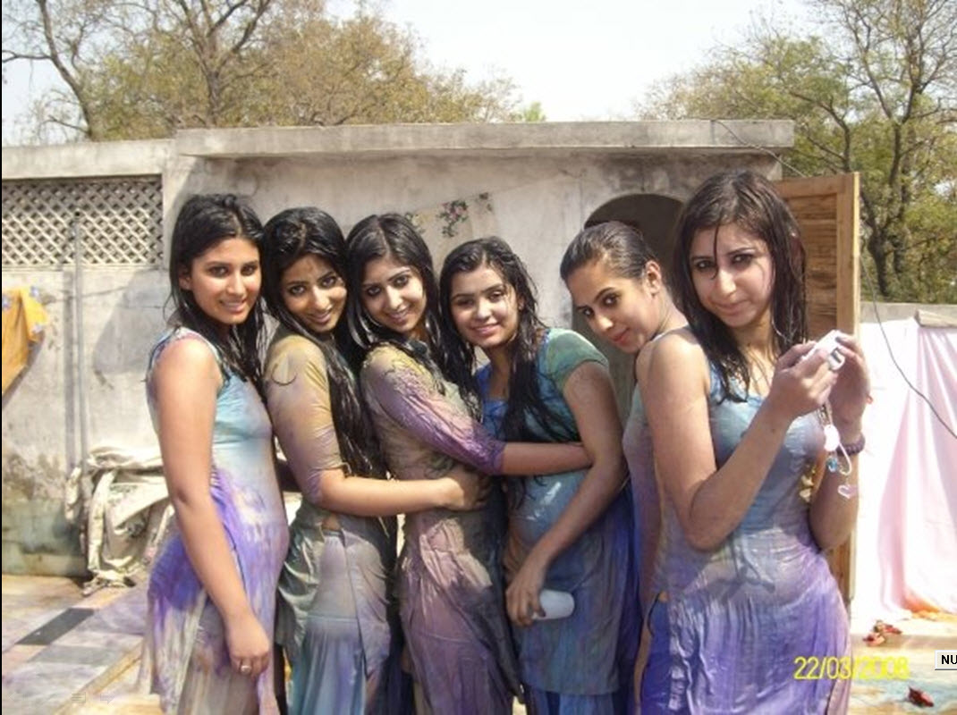 Virgin girls holi photo