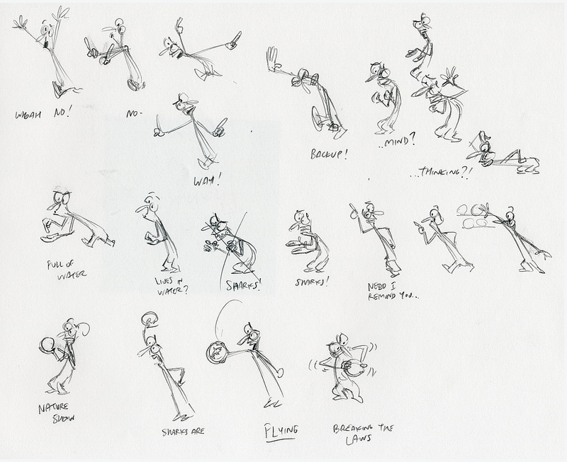 Spungella Animation Thumbnails By Victor Navone