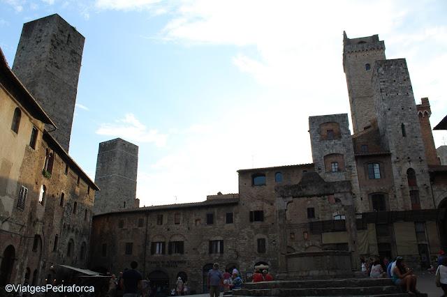 San Gimignano, Toscana medieval, Itàlia