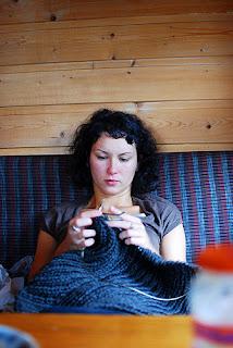robić na drutach