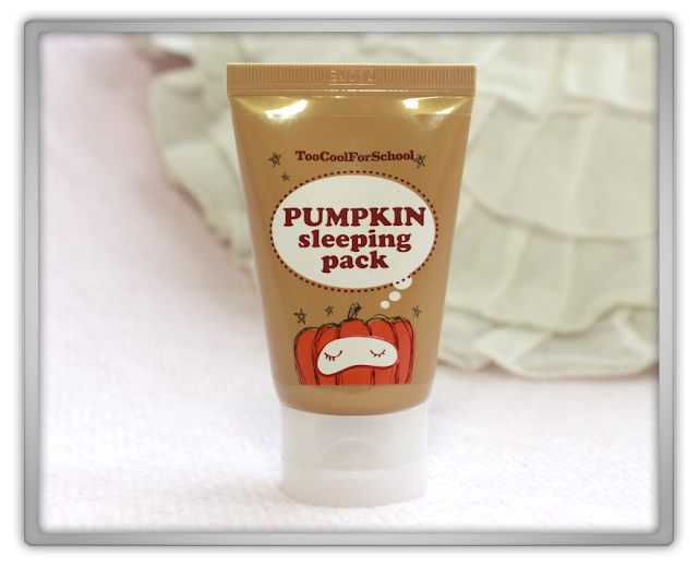 Too Cool For School Pumpkin Sleeping Pack Haul Review 투쿨포스쿨 펌킨 슬리핑 팩 리뷰 Beauty blog blogger korean kbeauty