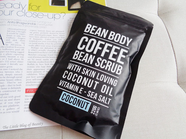Bean Body coffee bean body scrub
