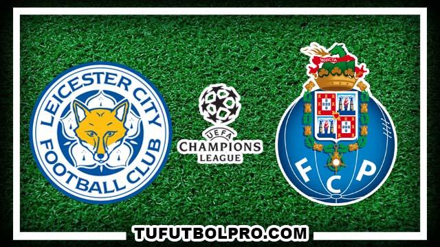 Ver Leicester City vs Porto EN VIVO Por Internet Hoy 27 de Septiembre 2016