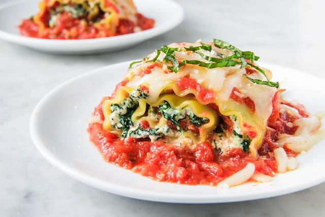 Easy Spinach Lasagna Rolls