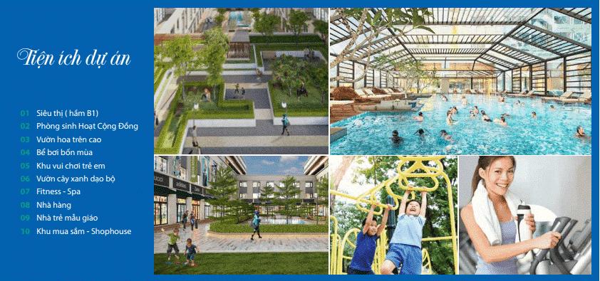 Không gian sống của dự án Bel Air Hà Nội