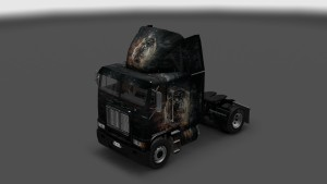 Tiger Skin for Freightliner FLB