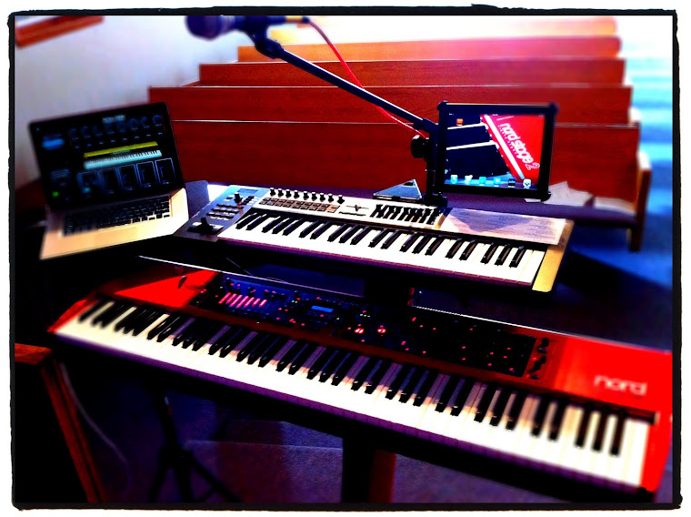 A MERGING OF 2 PASSIONS: WORSHIP & TECHNOLOGY: My Keyboard Rig