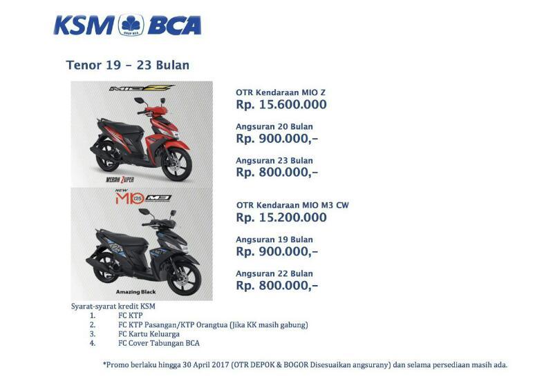 Kredit Motor BCA