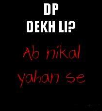 Attitude Whatsapp Pic in Hindi for Boys