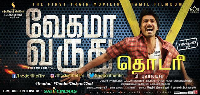 Thodari Release Date poster