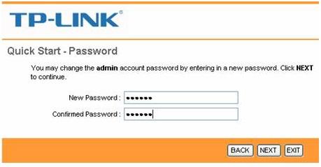 Configure ADSL TPLINK Router