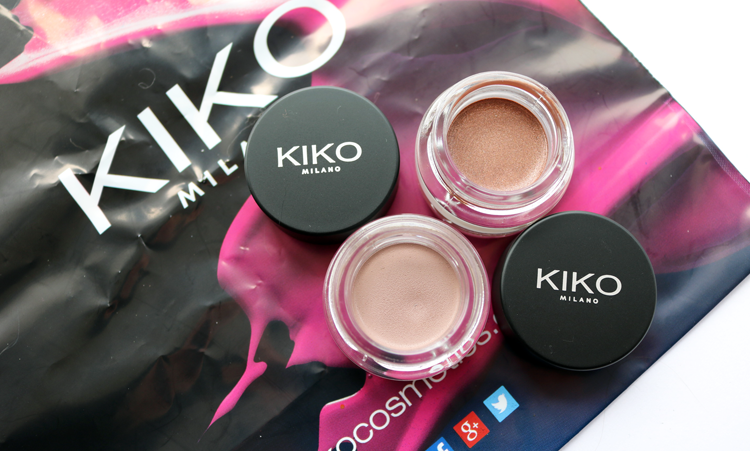 KIKO Cream Crush Eyeshadows 04 06 review swatches