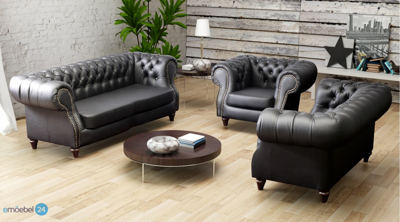 wohnzimmer couch leder de haus. Black Bedroom Furniture Sets. Home Design Ideas