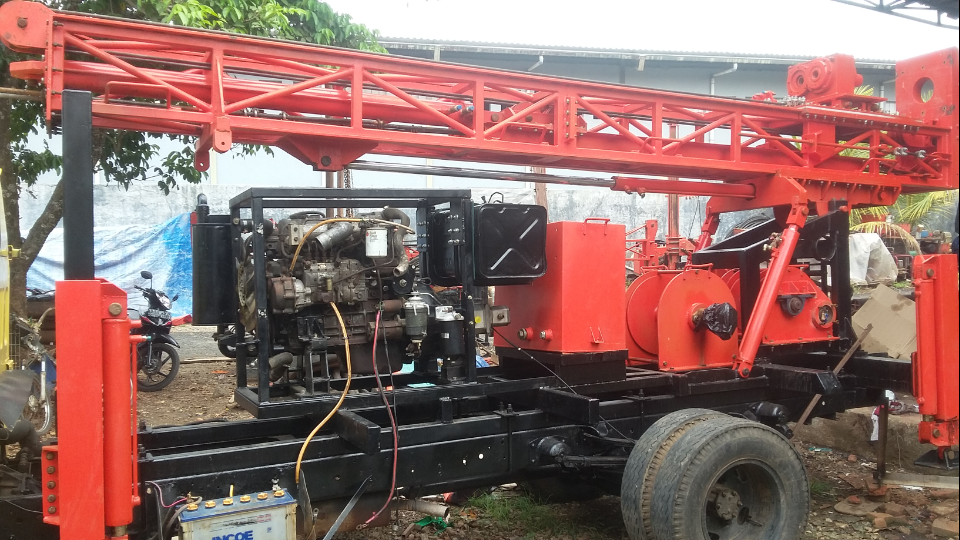 Sumur Bor Mineral Logam Bor Sample Tanah Dan Sondir Di Kota Padang Sumur Bor Padang