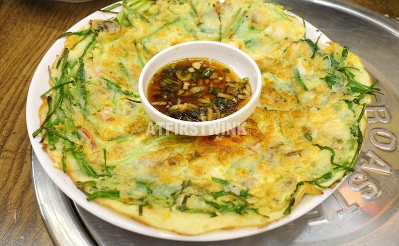 Daega korean bbq restaurant myeongdong seoul korea haemul pajeon