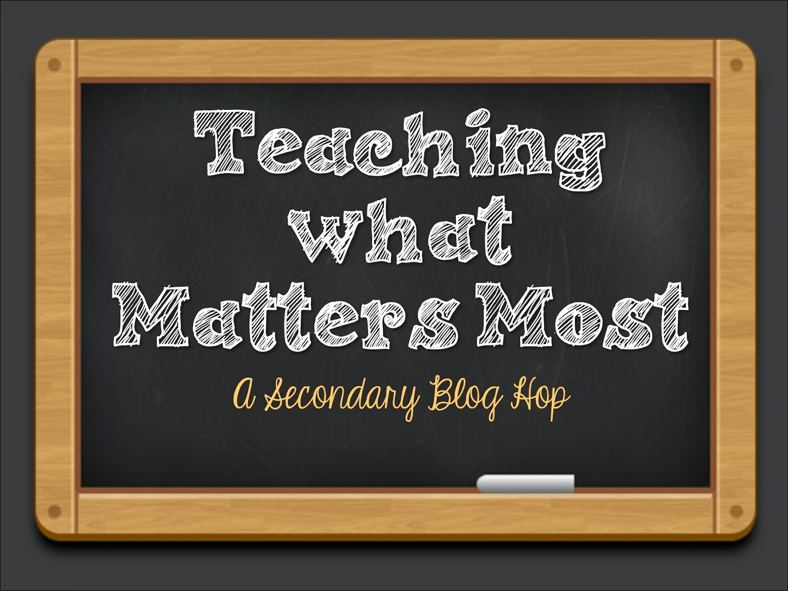 When it comes down to it, a lot of instructional time is lost to standardized testing, snow days, assemblies, and all sorts of other events. How do we fit in all the curriculum? How do we know what really matters? I'm sharing the three things that really matter to me and my students' instruction in this post, and I hope those three ideas inspire you, too.