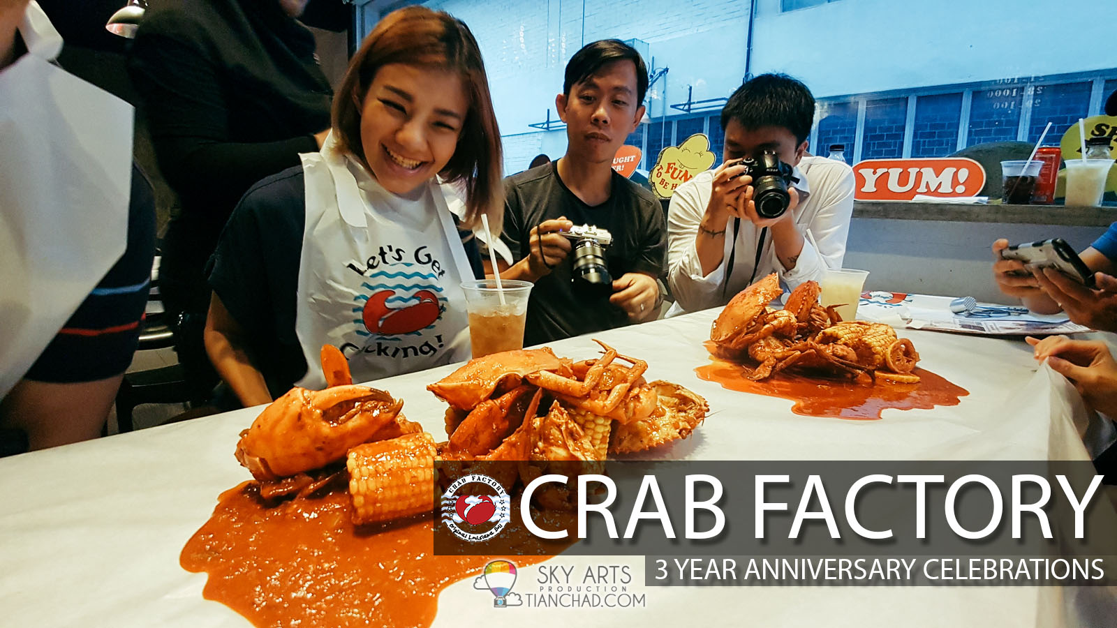 Grab the fresh seafood and enjoy it till finger licking good @ Crab Factory  SS2