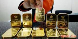 Emas Dalam Buruan Investor Saham