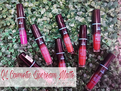 Review QL Cosmetic Lipcream Matte - All Shade