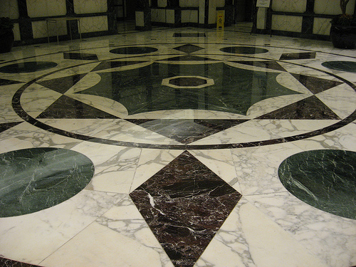 Marble flooring types price polishing designs and for Floor marble design