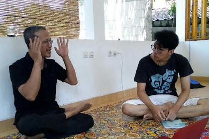Belajar blog dengan Pak Guru Anton