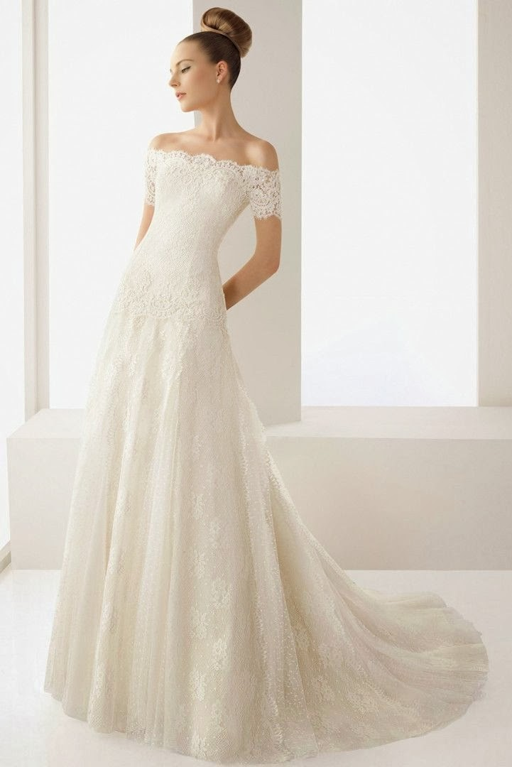 Wedding Blog Charming Off The Shoulder Wedding Dresses