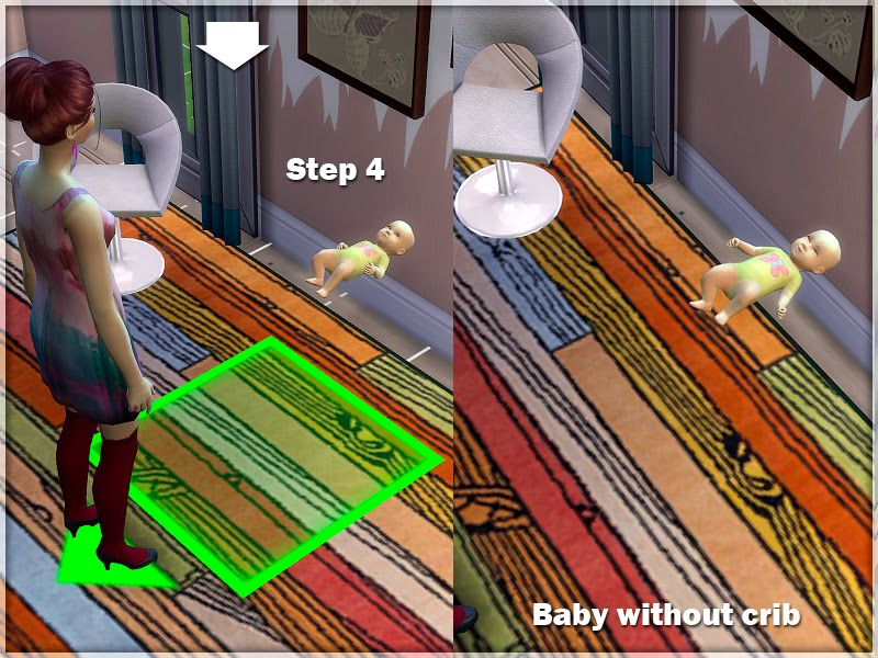 My Sims 4 Blog Default Replacement Baby Without Crib By