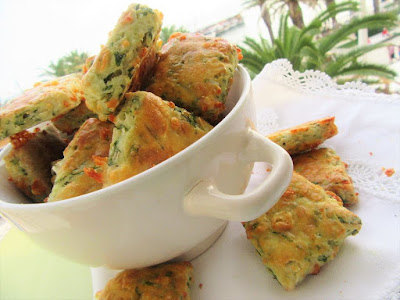Brze pogačice s vlascem / Scones with chives