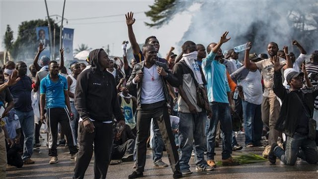 Angry Gabon justice minister resigns in protest at disputed vote results